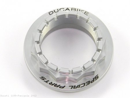 Rear Wheel Axle Nut by Ducabike Ducati / 1199 Panigale / 2012