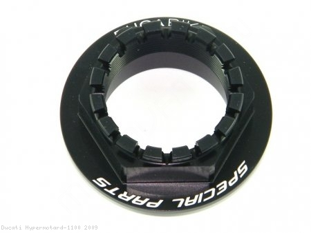 Rear Wheel Axle Nut by Ducabike Ducati / Hypermotard 1100 / 2009