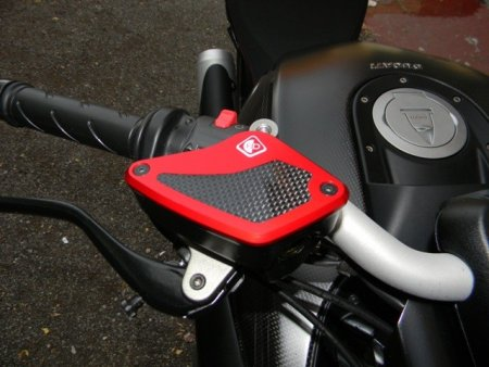 Brake and Clutch Fluid Tank Reservoir Caps by Ducabike