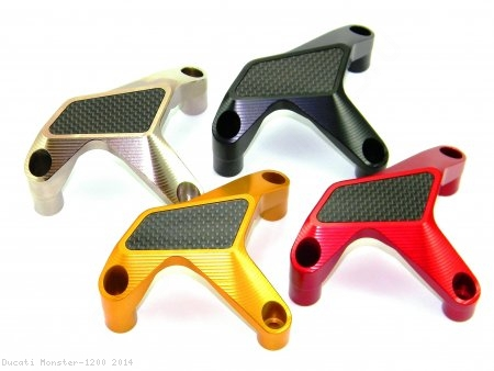 Water Pump Guard with Carbon Inlay by Ducabike Ducati / Monster 1200 / 2014