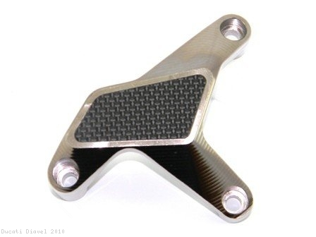 Water Pump Guard with Carbon Inlay by Ducabike Ducati / Diavel / 2010
