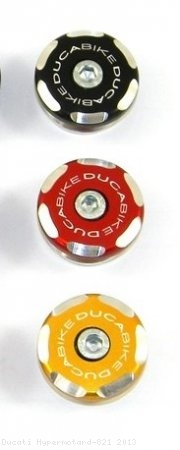 Left Side Front Wheel Axle Cap by Ducabike Ducati / Hypermotard 821 / 2013