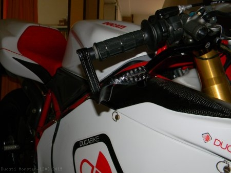 Carbon Fiber Brake Lever Guard by Ducabike Ducati / Monster 1200 / 2019