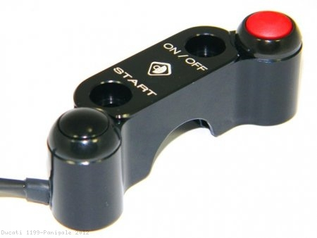 Right Hand 2 Button Street Switch by Ducabike Ducati / 1199 Panigale / 2012