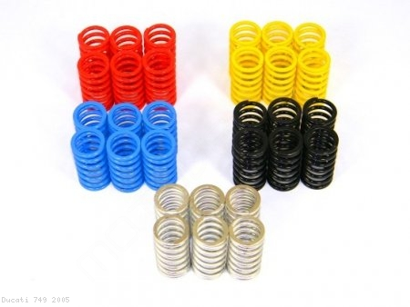 Dry Clutch 6 Piece Spring Kit by Ducabike Ducati / 749 / 2005