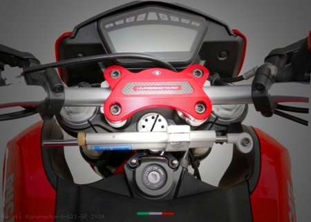 Ohlins Steering Damper Mount Kit by Ducabike Ducati / Hypermotard 821 SP / 2014