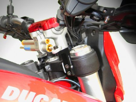 Ohlins Steering Damper Mount Kit by Ducabike