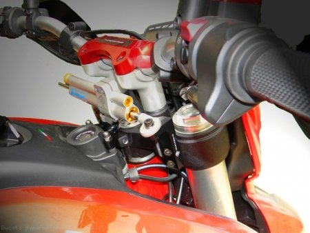 Ohlins Steering Damper Mount Kit by Ducabike Ducati / Hypermotard 821 SP / 2015