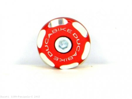 Left Side Front Wheel Axle Cap by Ducabike Ducati / 1199 Panigale S / 2013