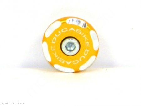 Right Side Front Wheel Axle Cap by Ducabike Ducati / 848 / 2010