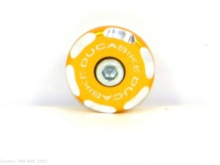 Left Side Front Wheel Axle Cap by Ducabike Ducati / 848 EVO / 2013