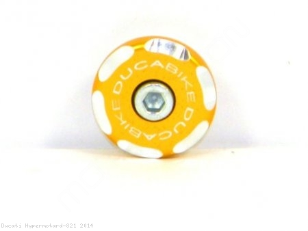 Left Side Front Wheel Axle Cap by Ducabike Ducati / Hypermotard 821 / 2014
