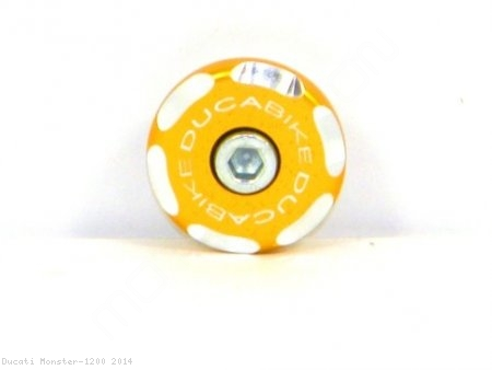 Left Side Front Wheel Axle Cap by Ducabike Ducati / Monster 1200 / 2014