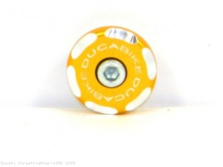 Left Side Front Wheel Axle Cap by Ducabike Ducati / Streetfighter 1098 / 2009