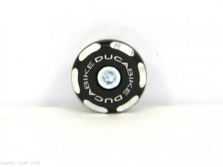 Left Side Front Wheel Axle Cap by Ducabike Ducati / 1198 / 2011