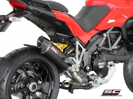 Oval De-Cat SC1 Exhaust by SC-Project Ducati / Multistrada 1200 S / 2011