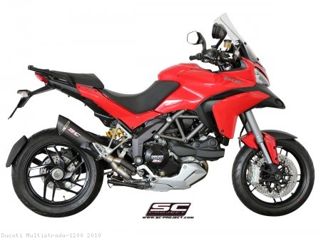 Oval De-Cat SC1 Exhaust by SC-Project Ducati / Multistrada 1200 / 2010