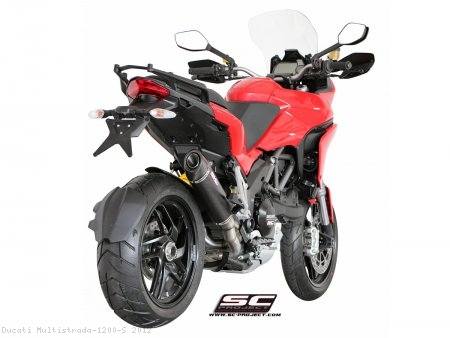 Oval De-Cat SC1 Exhaust by SC-Project Ducati / Multistrada 1200 S / 2012