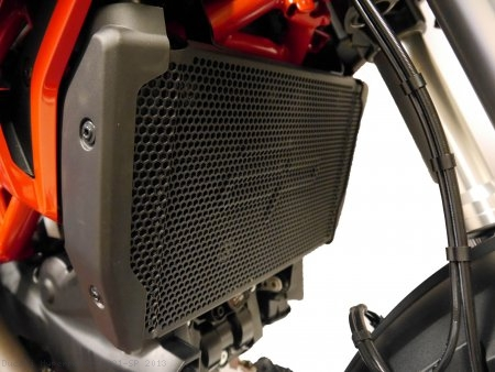 Radiator Guard by Evotech Performance Ducati / Hypermotard 821 SP / 2013