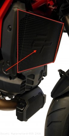 Radiator Guard by Evotech Performance Ducati / Hypermotard 939 / 2016
