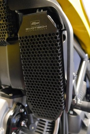 Oil Cooler Guard by Evotech Performance Ducati / Scrambler 800 Icon / 2016