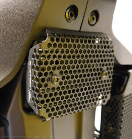 Rectifier Guard by Evotech Performance Ducati / Scrambler 800 Cafe Racer / 2017