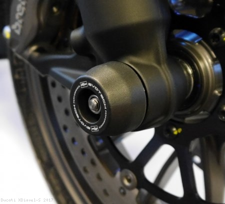 Front Fork Axle Sliders by Evotech Performance Ducati / XDiavel S / 2017