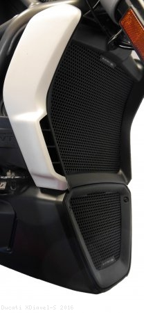 Radiator and Oil Cooler Guard Set by Evotech Ducati / XDiavel S / 2016