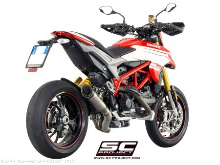S1 Exhaust by SC-Project Ducati / Hypermotard 821 SP / 2015