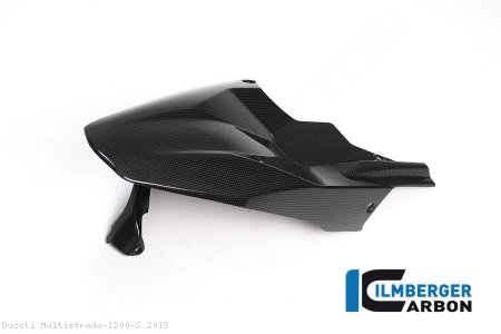 Carbon Fiber Rear Hugger by Ilmberger Carbon Ducati / Multistrada 1200 S / 2015