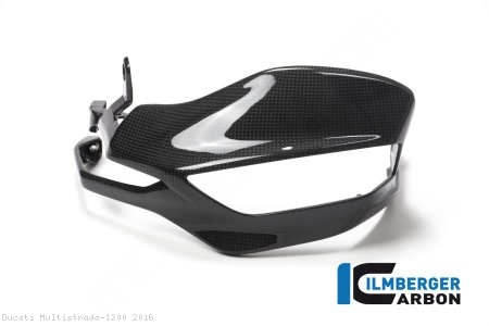 Carbon Fiber Handguard by Ilmberger Carbon Ducati / Multistrada 1200 / 2016