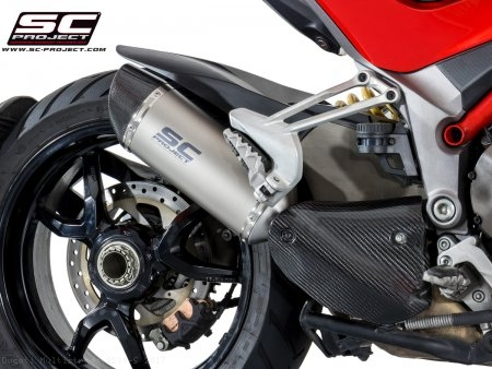 Oval Exhaust by SC-Project Ducati / Multistrada 1200 S / 2017