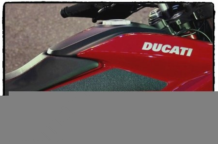 Snake Skin Tank Grip Pads by TechSpec Ducati / Hyperstrada 821 / 2015
