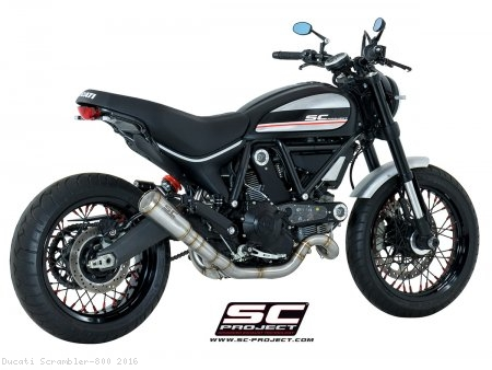 Conic Exhaust by SC-Project Ducati / Scrambler 800 / 2016