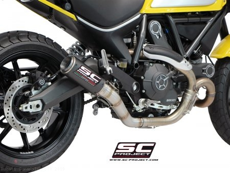 CR-T Exhaust by SC-Project Ducati / Scrambler 800 / 2019