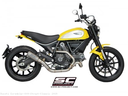CR-T Exhaust by SC-Project Ducati / Scrambler 800 Street Classic / 2019