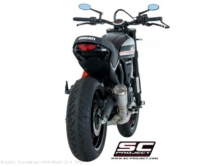 Conic Exhaust by SC-Project Ducati / Scrambler 800 Mach 2.0 / 2017