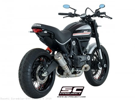 Conic Exhaust by SC-Project Ducati / Scrambler 800 Mach 2.0 / 2019