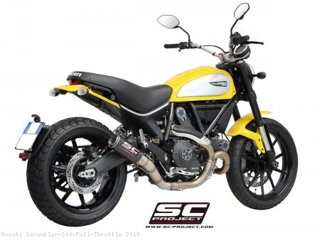 CR-T Exhaust by SC-Project Ducati / Scrambler 800 Full Throttle / 2019