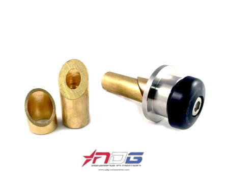 ADG Weighted Bar End Mirror Adapter