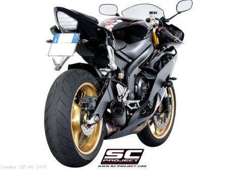 S1 Low Mount Exhaust by SC-Project Yamaha / YZF-R6 / 2007