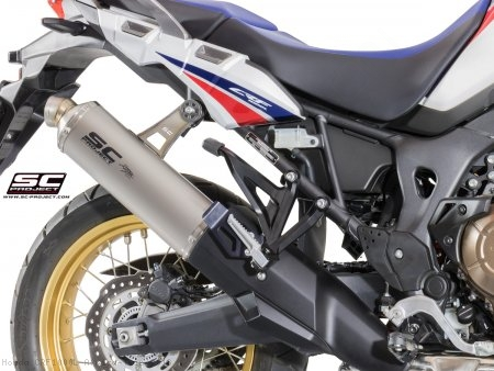 R60 Exhaust by SC-Project Honda / CRF1000L Africa Twin / 2018