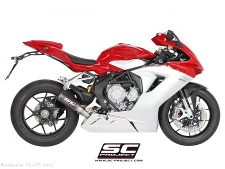 CR-T Exhaust by SC-Project MV Agusta / F3 675 / 2012