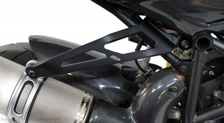 Exhaust Hanger Bracket by Evotech Performance Ducati / Streetfighter 848 / 2011