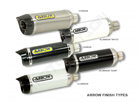 Race-Tech Exhaust Slip-On by Arrow
