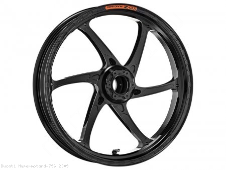 GASS RS-A Aluminum 6 Spoke Front Wheel by OZ Wheels Ducati / Hypermotard 796 / 2009