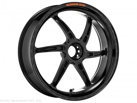 GASS RS-A Aluminum 6 Spoke Rear Wheel by OZ Wheels Ducati / Hypermotard 821 / 2013