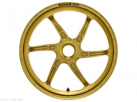 GASS RS-A Aluminum 6 Spoke Rear Wheel by OZ Wheels Ducati / 996 / 2002