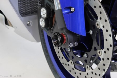 GTA Track Style Front Fork Axle Sliders by Gilles Tooling Yamaha / MT-10 / 2017
