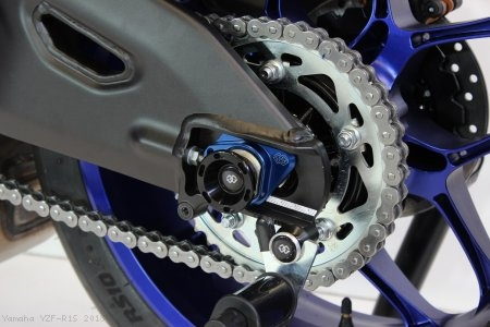 GTA Track Style Rear Axle Sliders by Gilles Tooling Yamaha / YZF-R1S / 2018